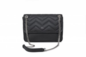 CS206975 LADIES' QUILTED LEATHER SHOULDER BAG L SIZE