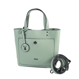 C1812010 PEBBLE MIMI LEATHRT TOTE