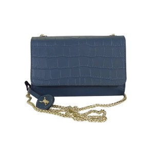 C1812003 EMBOSSED LEATHER CLUTCH