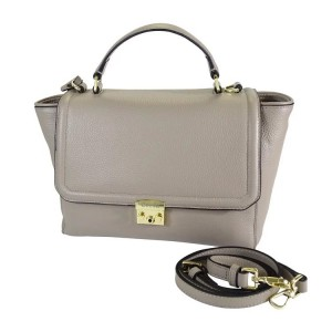 C1811004 PEBBLE LEATHER TOP-HANDLE ZIPPER TOTE